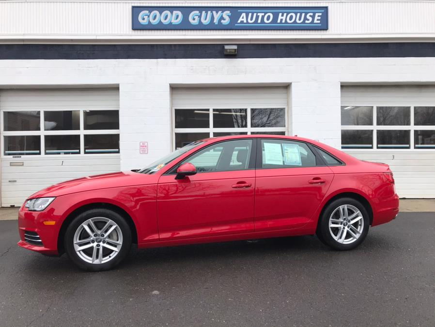 Used Audi A4 2.0 TFSI Auto Premium quattro AWD 2017 | Good Guys Auto House. Southington, Connecticut