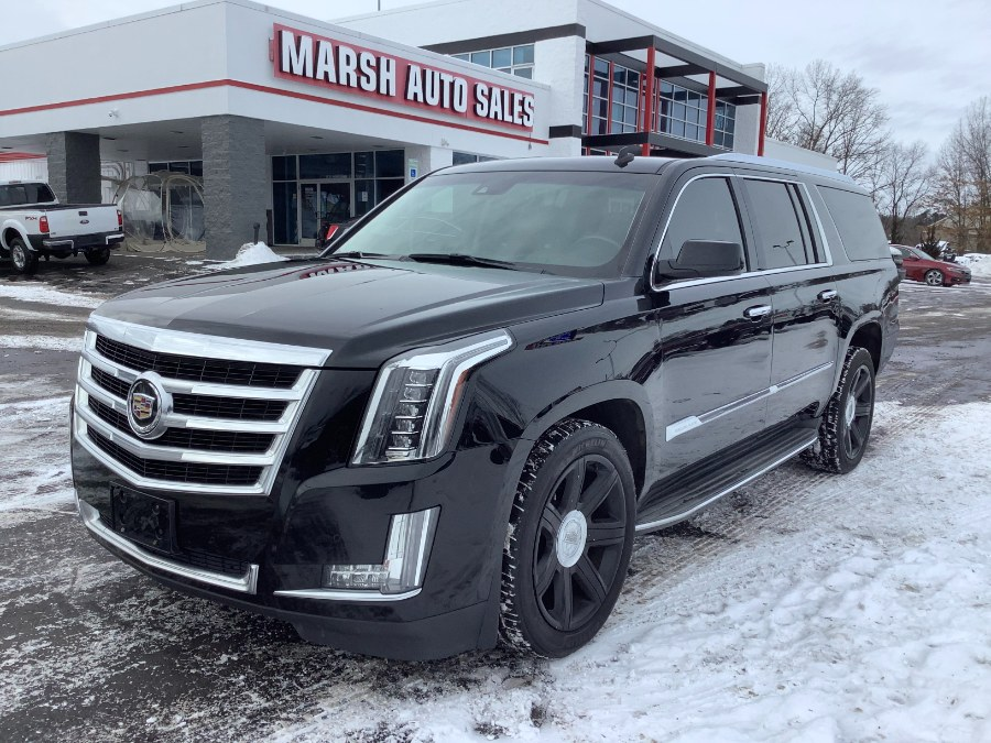 Used 2015 Cadillac Escalade ESV in Ortonville, Michigan | Marsh Auto Sales LLC. Ortonville, Michigan