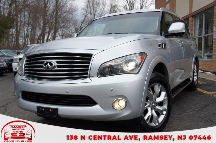 Used 2014 INFINITI QX80 in Ramsey, New Jersey | Ramsey Motor Cars Inc. Ramsey, New Jersey