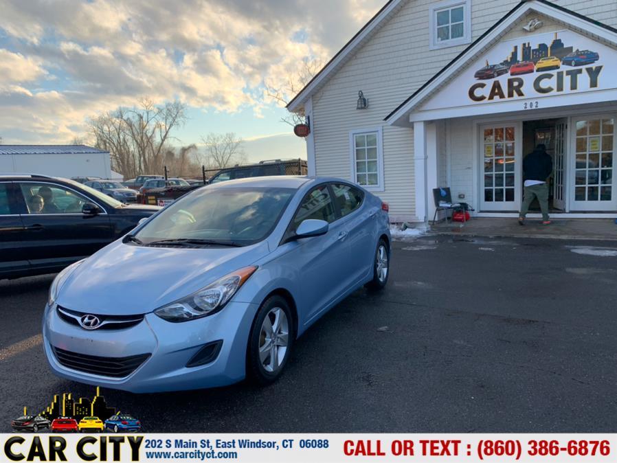 Used Hyundai Elantra 4dr Sdn Man GLS (Ulsan Plant) *Ltd Avail* 2011 | Car City LLC. East Windsor, Connecticut
