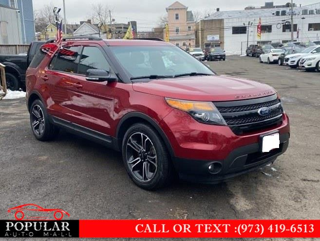 Used Ford Explorer 4WD 4dr Sport 2015 | Popular Auto Mall Inc . Newark , New Jersey