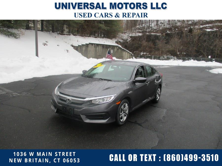Used Honda Civic Sedan LX CVT 2018 | Universal Motors LLC. New Britain, Connecticut