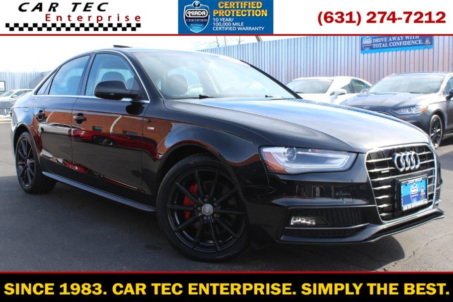 Used 2014 Audi A4 in Deer Park, New York | Car Tec Enterprise Leasing & Sales LLC. Deer Park, New York