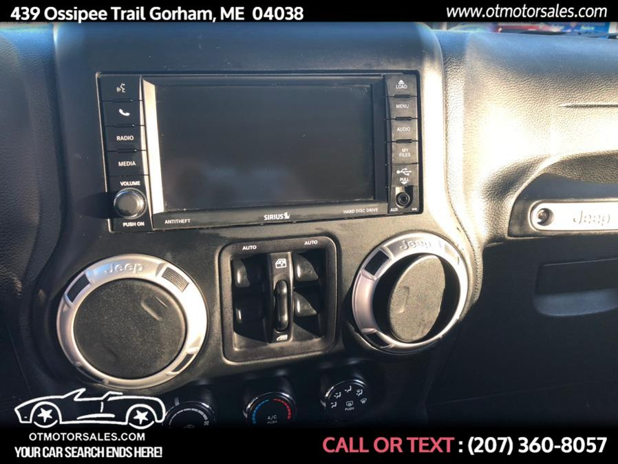 Used Jeep Wrangler Unlimited 4WD 4dr Sahara 2015 | Ossipee Trail Motor Sales. Gorham, Maine