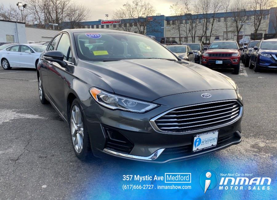 Used 2020 Ford Fusion in Medford, Massachusetts | Inman Motors Sales. Medford, Massachusetts