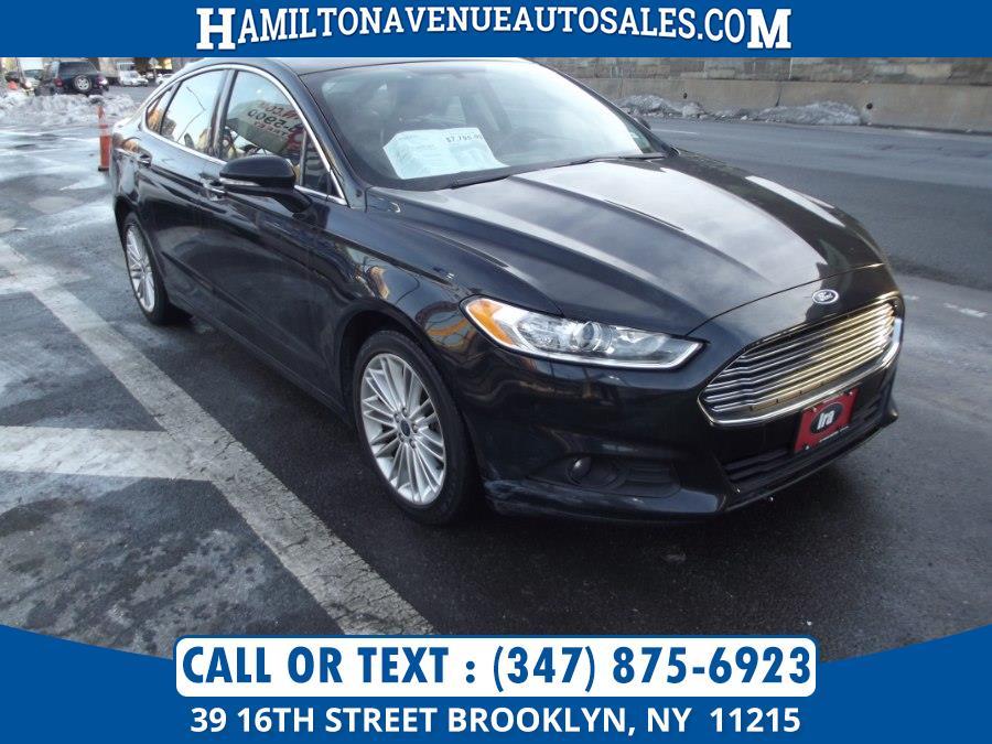 Used Ford Fusion 4dr Sdn SE AWD 2016 | Hamilton Avenue Auto Sales DBA Nyautoauction.com. Brooklyn, New York