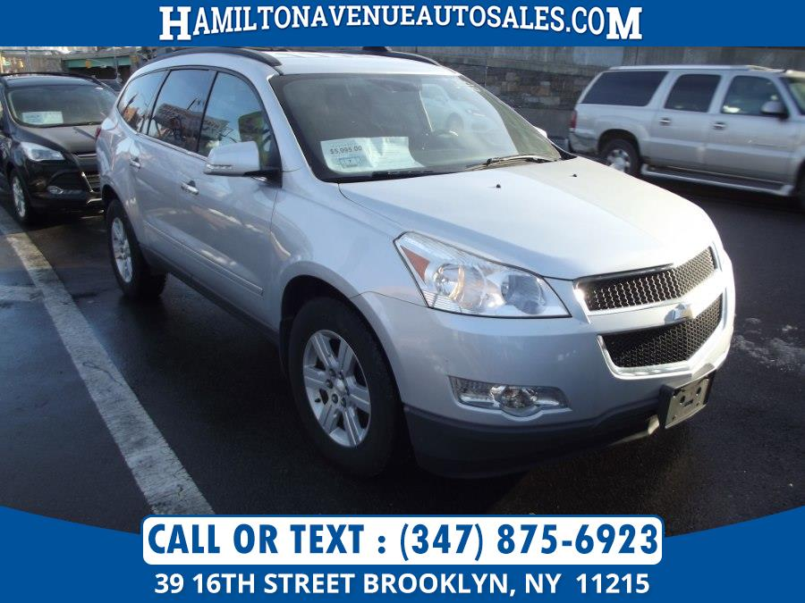 Used Chevrolet Traverse AWD 4dr LT w/1LT 2012 | Hamilton Avenue Auto Sales DBA Nyautoauction.com. Brooklyn, New York