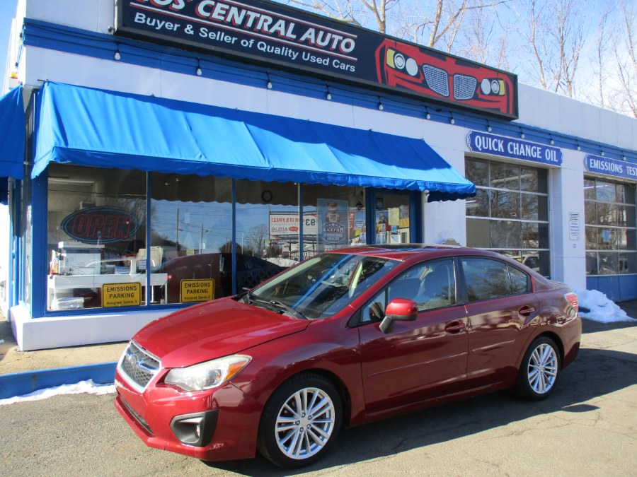 Used Subaru Impreza Sedan 4dr Auto 2.0i Premium 2013 | Cos Central Auto. Meriden, Connecticut
