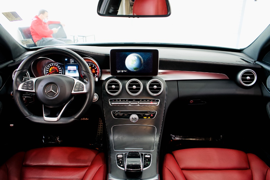 Used Mercedes-Benz C-Class 4dr Sdn C 450 AMG 4MATIC 2016 | Luxury Motor Club. Franklin Square, New York
