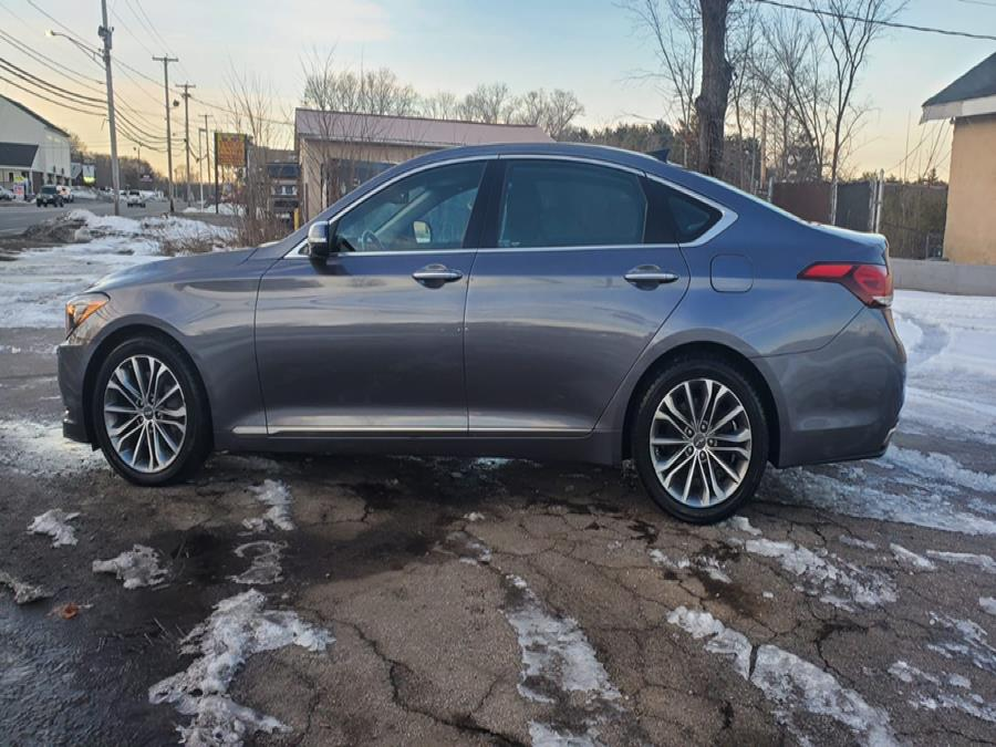 Used Hyundai Genesis 4dr Sdn V6 3.8L AWD 2015 | Capital Lease and Finance. Brockton, Massachusetts