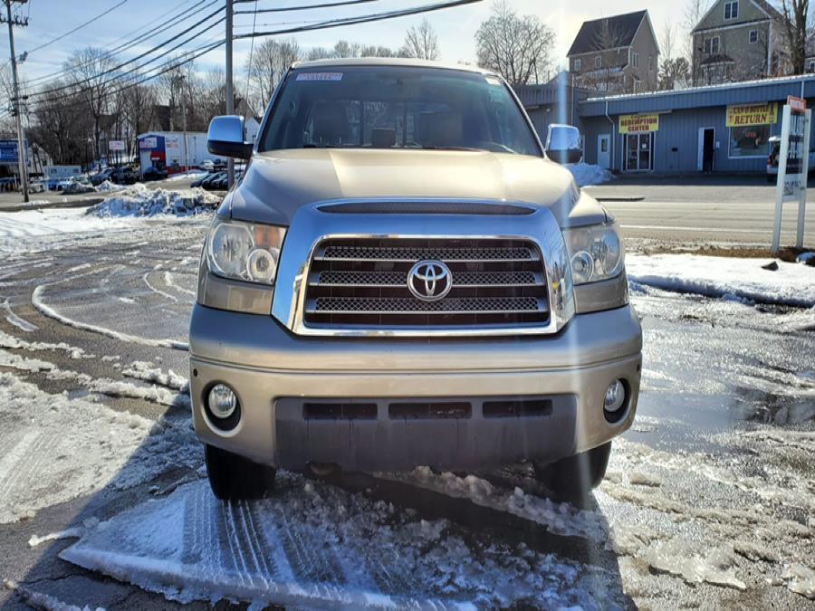 Used Toyota Tundra 4WD Truck Dbl 5.7L V8 6-Spd AT LTD (Natl) 2008 | Capital Lease and Finance. Brockton, Massachusetts