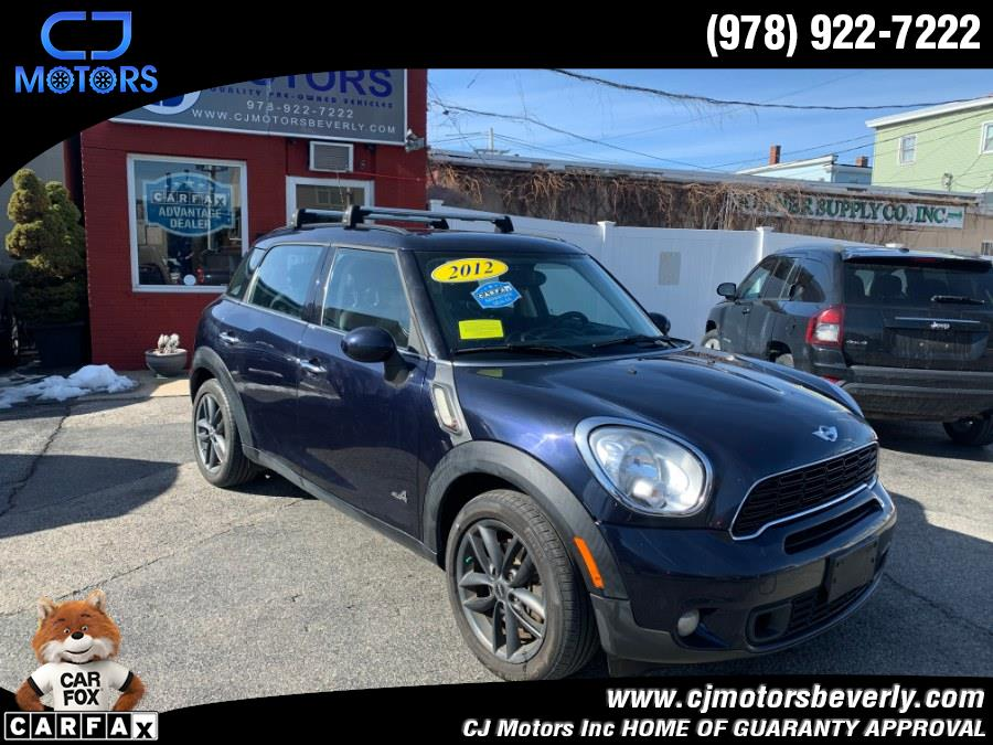 Used 2012 MINI Cooper Countryman in Beverly, Massachusetts | CJ Motors Inc. Beverly, Massachusetts