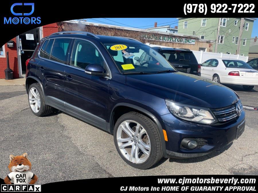 Used 2013 Volkswagen Tiguan in Beverly, Massachusetts | CJ Motors Inc. Beverly, Massachusetts