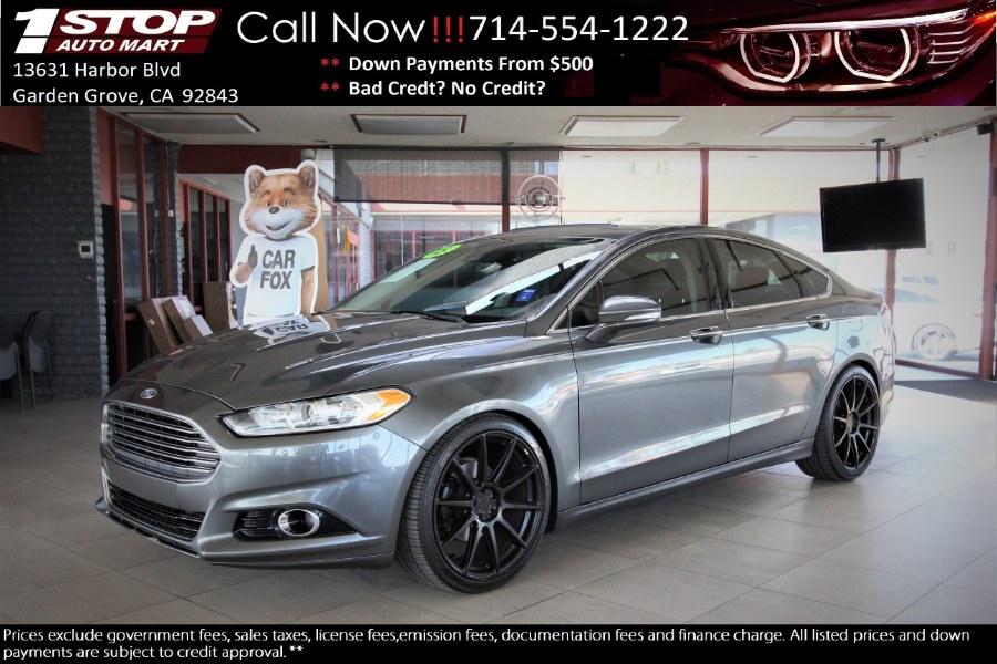 Used Ford Fusion 4dr Sdn Titanium FWD 2015 | 1 Stop Auto Mart Inc.. Garden Grove, California