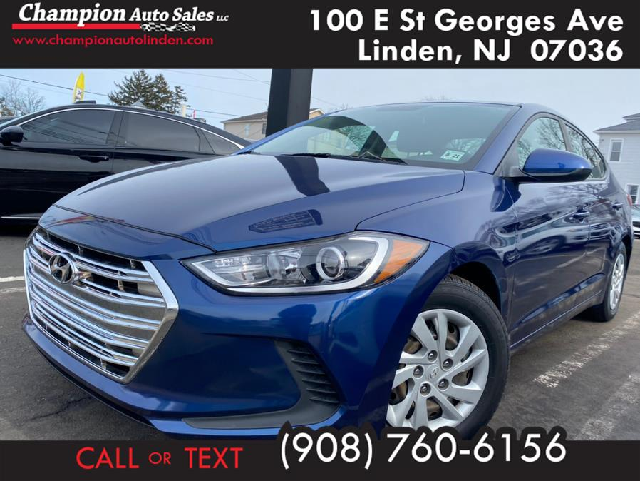 Used 2017 Hyundai Elantra in Linden, New Jersey | Champion Used Auto Sales. Linden, New Jersey