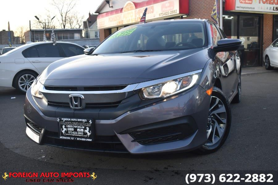 Used Honda Civic Sedan EX CVT 2018 | Foreign Auto Imports. Irvington, New Jersey