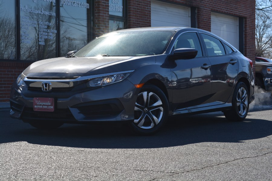 Used 2018 Honda Civic Sedan in ENFIELD, Connecticut | Longmeadow Motor Cars. ENFIELD, Connecticut