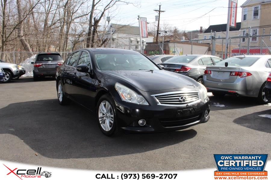 Used 2010 Infiniti G37 Sedan AWD in Paterson, New Jersey | Xcell Motors LLC. Paterson, New Jersey