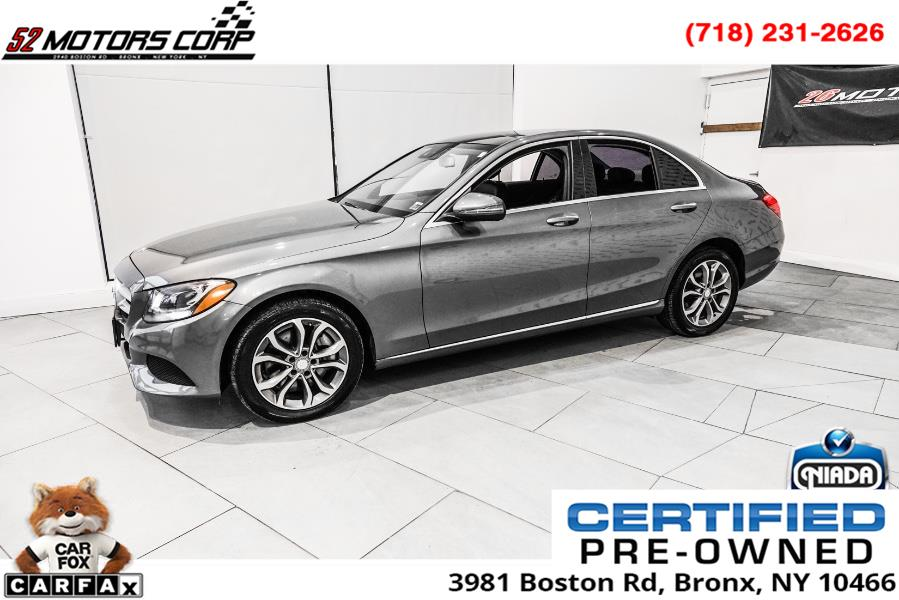 Used Mercedes-Benz C-Class C 300 4MATIC Sedan 2017 | 52Motors Corp. Woodside, New York