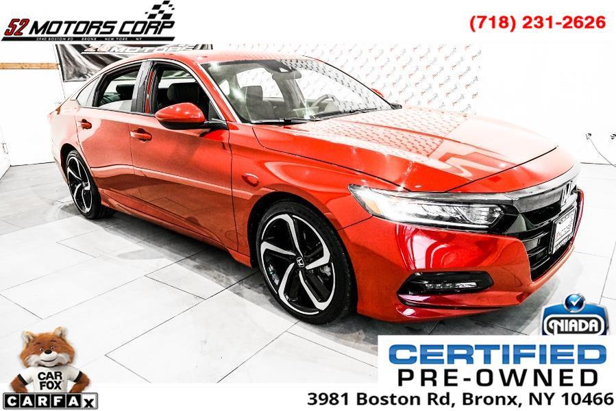 Used Honda Accord Sedan Sport 1.5T CVT 2019 | 52Motors Corp. Woodside, New York