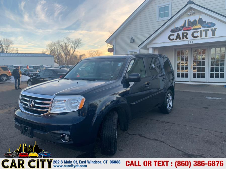 Used Honda Pilot 4WD 4dr EX-L 2012 | Car City LLC. East Windsor, Connecticut