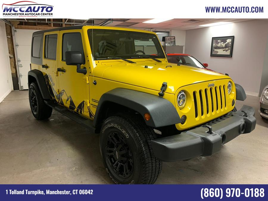 2011 Jeep Wrangler Unlimited 4WD 4dr Mojave, available for sale in Manchester, CT