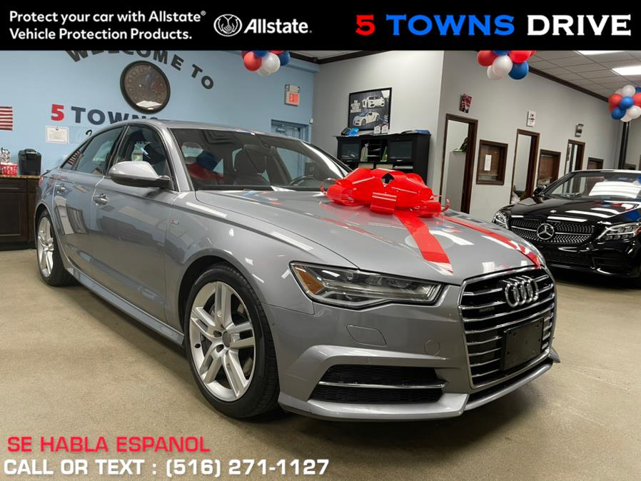 Used Audi A6 S/LINE 4dr Sdn quattro 2.0T Premium Plus 2016 | 5 Towns Drive. Inwood, New York