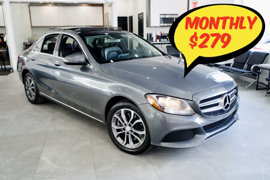 2017 Mercedes-Benz C-Class C300 4MATIC Sedan, available for sale in Franklin Square, NY