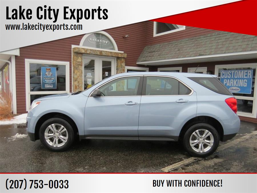 Used Chevrolet Equinox LS 4dr SUV 2014   Lake City Exports Inc. Auburn, Maine