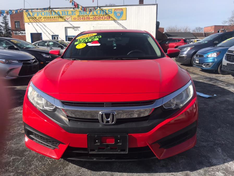 Used Honda Civic Sedan 4dr CVT LX 2016   Affordable Motors Inc. Bridgeport, Connecticut
