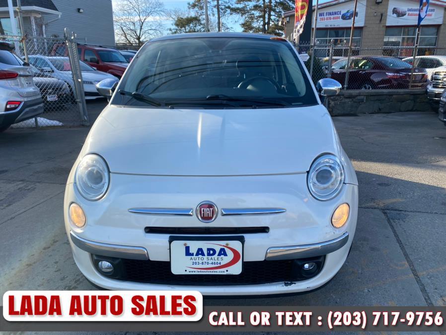 Used FIAT 500 2dr HB Lounge 2012 | Lada Auto Sales. Bridgeport, Connecticut