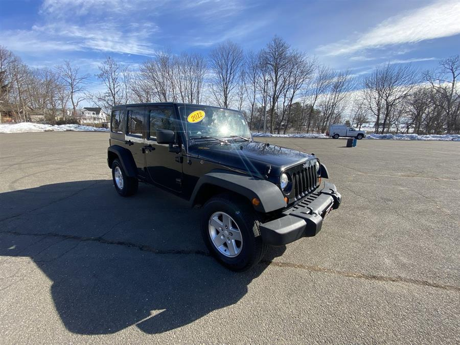 Used Jeep Wrangler Unlimited 4WD 4dr Sport 2012   Wiz Leasing Inc. Stratford, Connecticut