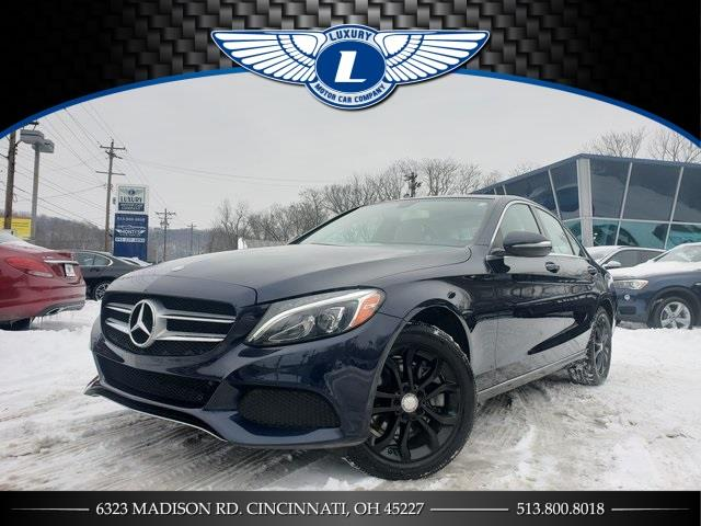 Used 2015 Mercedes-benz C-class in Cincinnati, Ohio | Luxury Motor Car Company. Cincinnati, Ohio