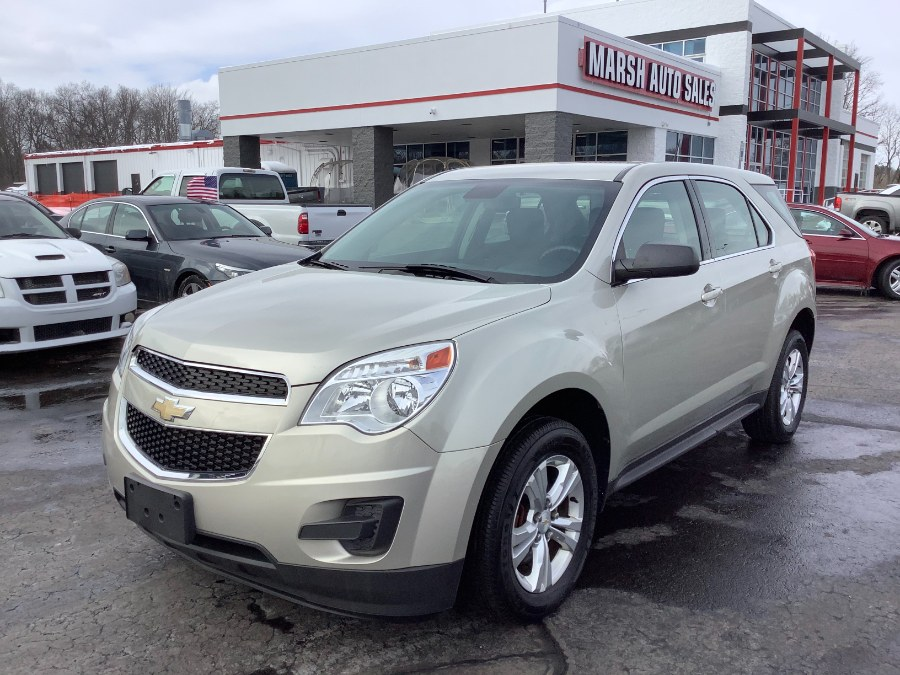 Used Chevrolet Equinox FWD 4dr LS 2014 | Marsh Auto Sales LLC. Ortonville, Michigan