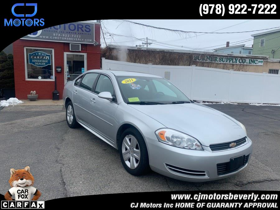 Used 2011 Chevrolet Impala in Beverly, Massachusetts | CJ Motors Inc. Beverly, Massachusetts