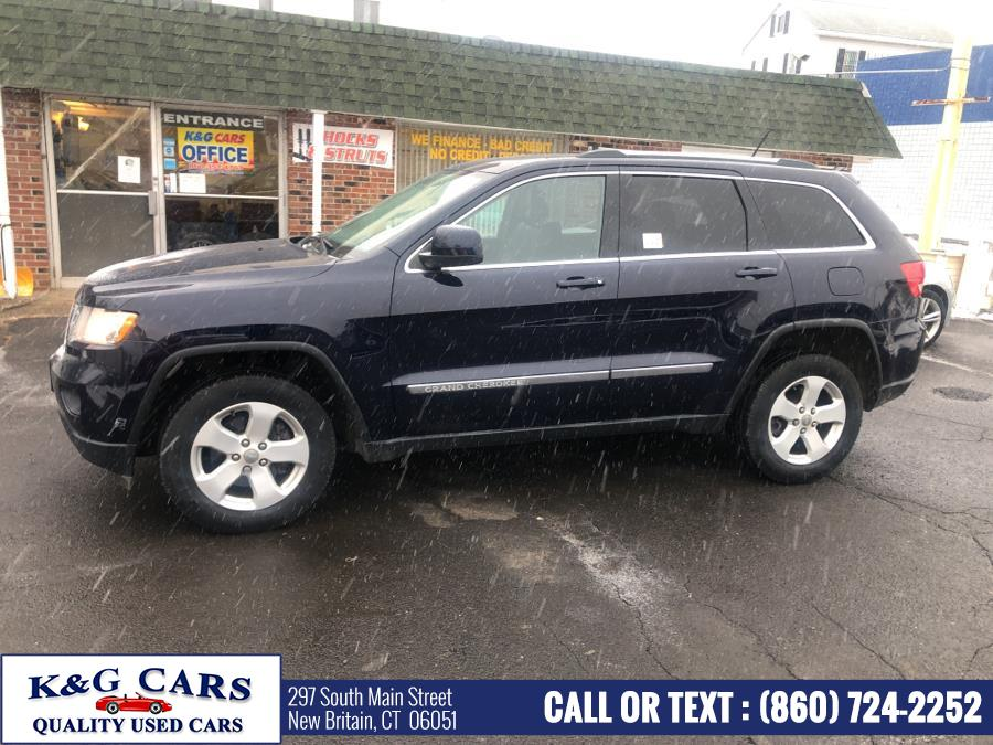 Used Jeep Grand Cherokee 4WD 4dr Laredo 2012 | K and G Cars . New Britain, Connecticut