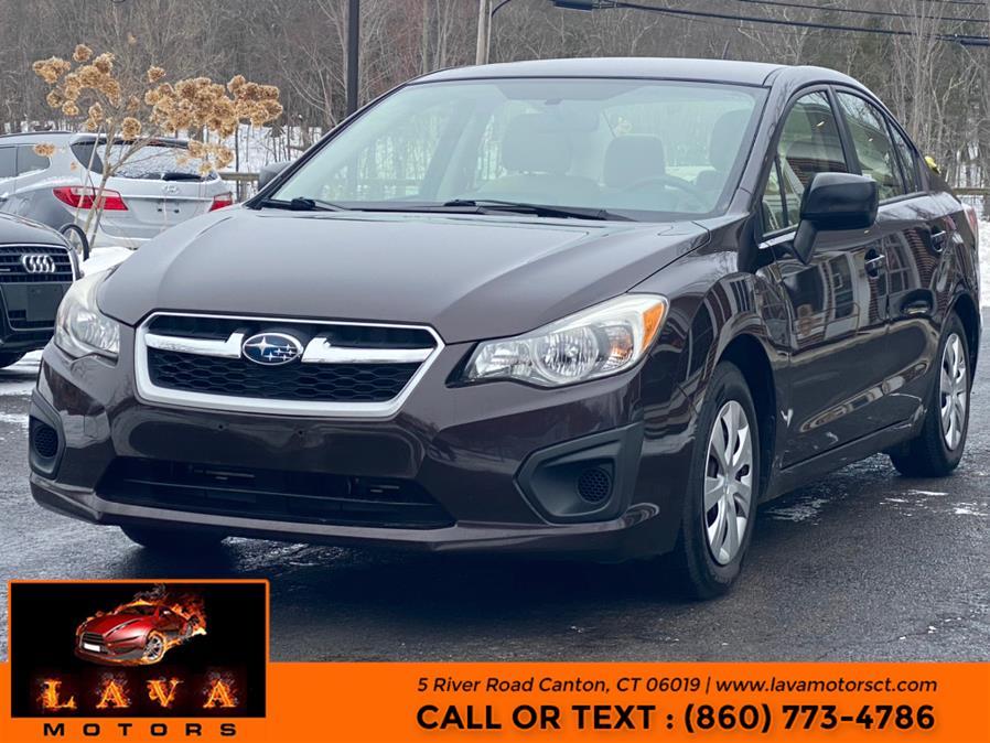 Used 2013 Subaru Impreza Sedan in Canton, Connecticut | Lava Motors. Canton, Connecticut