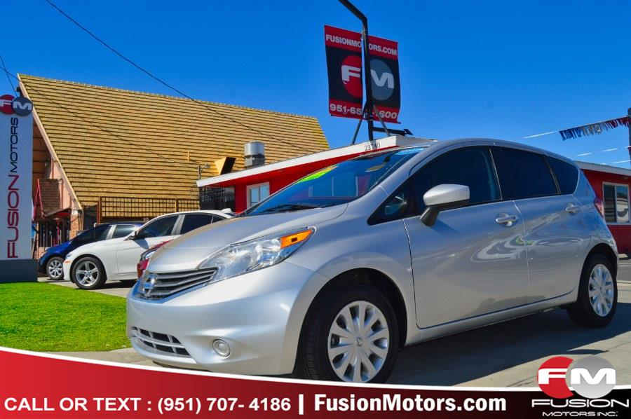 Used Nissan Versa Note 5dr HB CVT 1.6 SV 2015 | Fusion Motors Inc. Moreno Valley, California