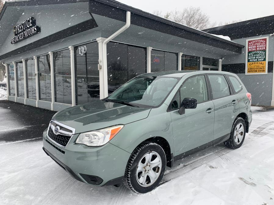 Used Subaru Forester 4dr Auto 2.5i PZEV 2014 | Prestige Pre-Owned Motors Inc. New Windsor, New York