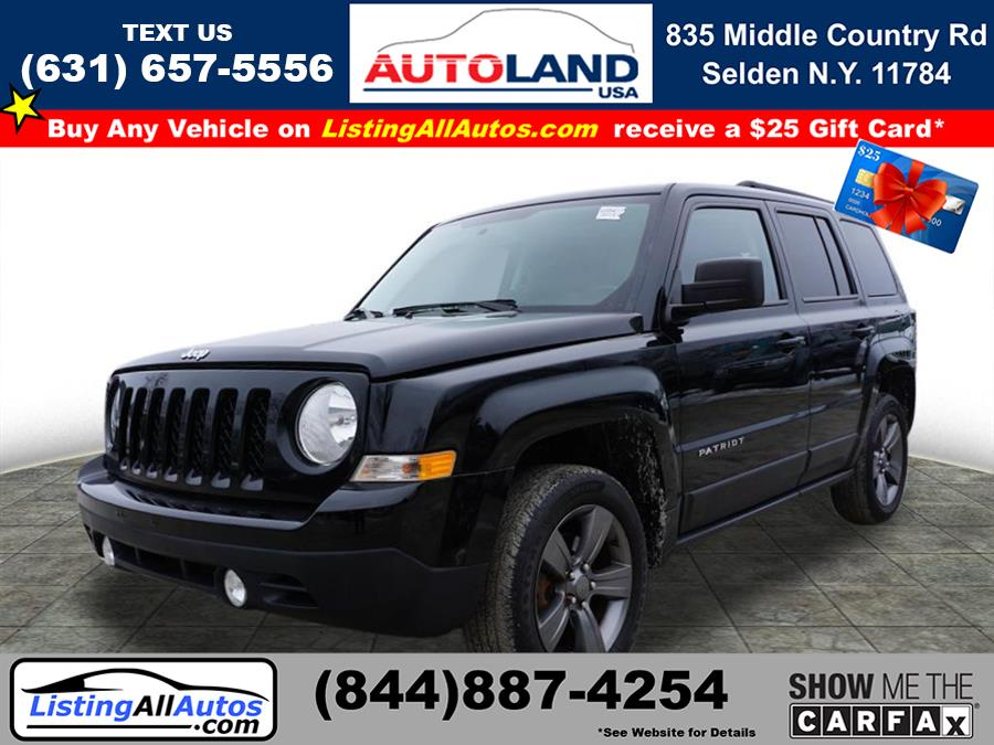 Used Jeep Patriot Latitude 2015   www.ListingAllAutos.com. Patchogue, New York