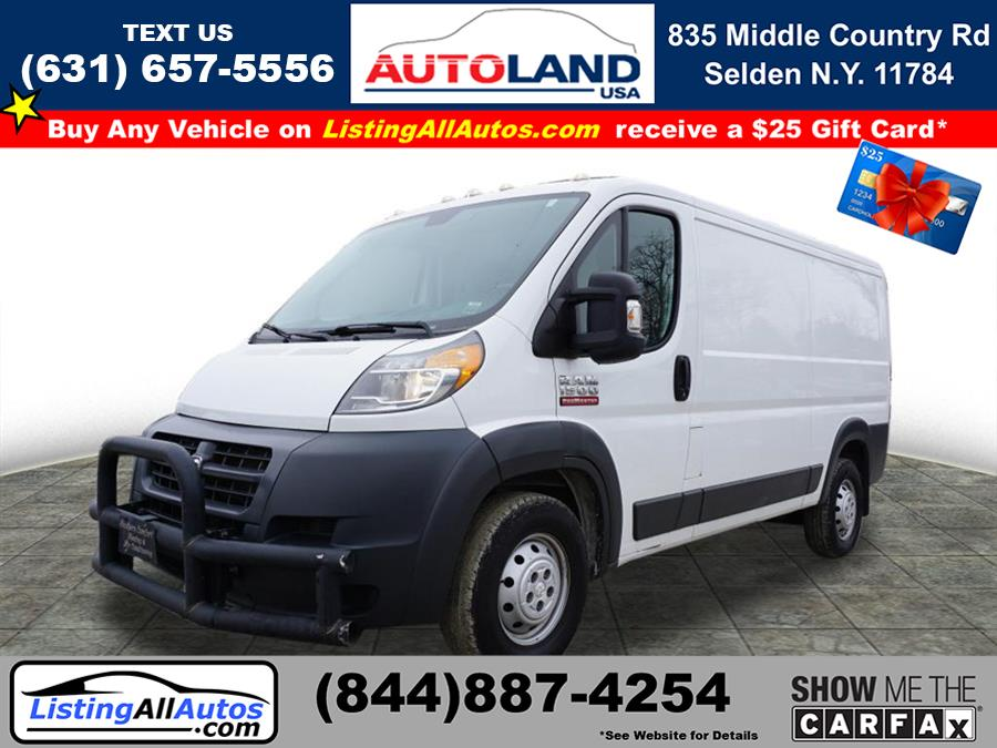 Used 2015 Ram Promaster Cargo in Patchogue, New York   www.ListingAllAutos.com. Patchogue, New York