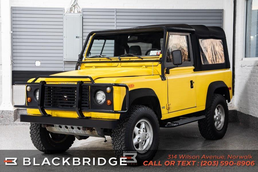 Used Land Rover Defender 90 2dr Convertible 1994   Black Bridge Motors, LLC. Norwalk, Connecticut