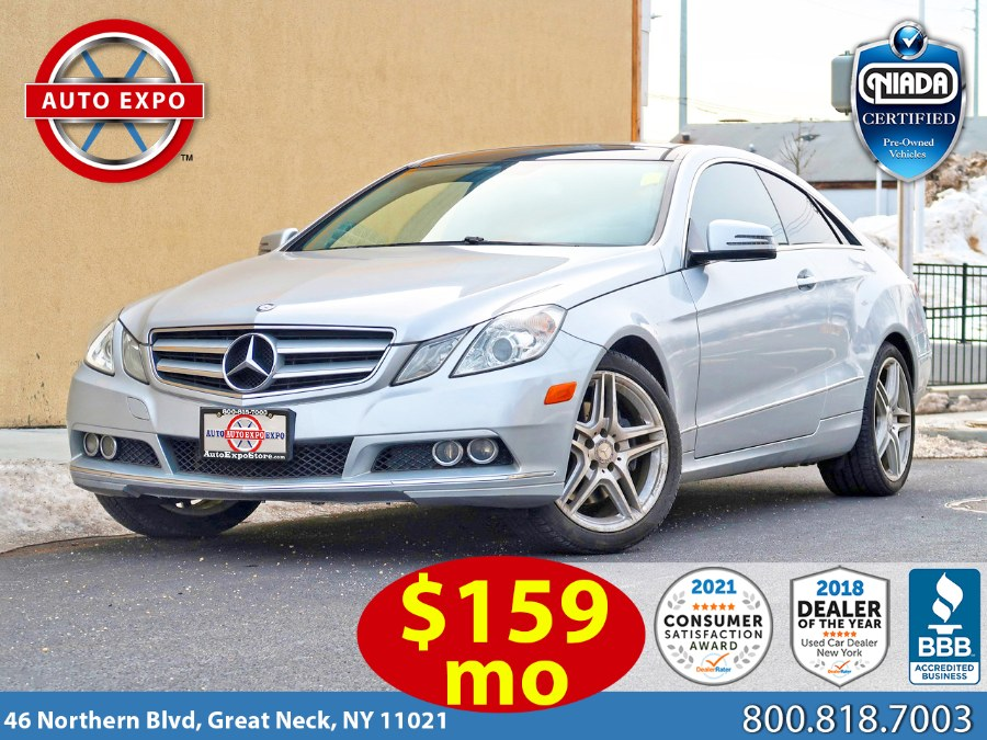 Used 2011 Mercedes-benz E-class in Great Neck, New York | Auto Expo Ent Inc.. Great Neck, New York