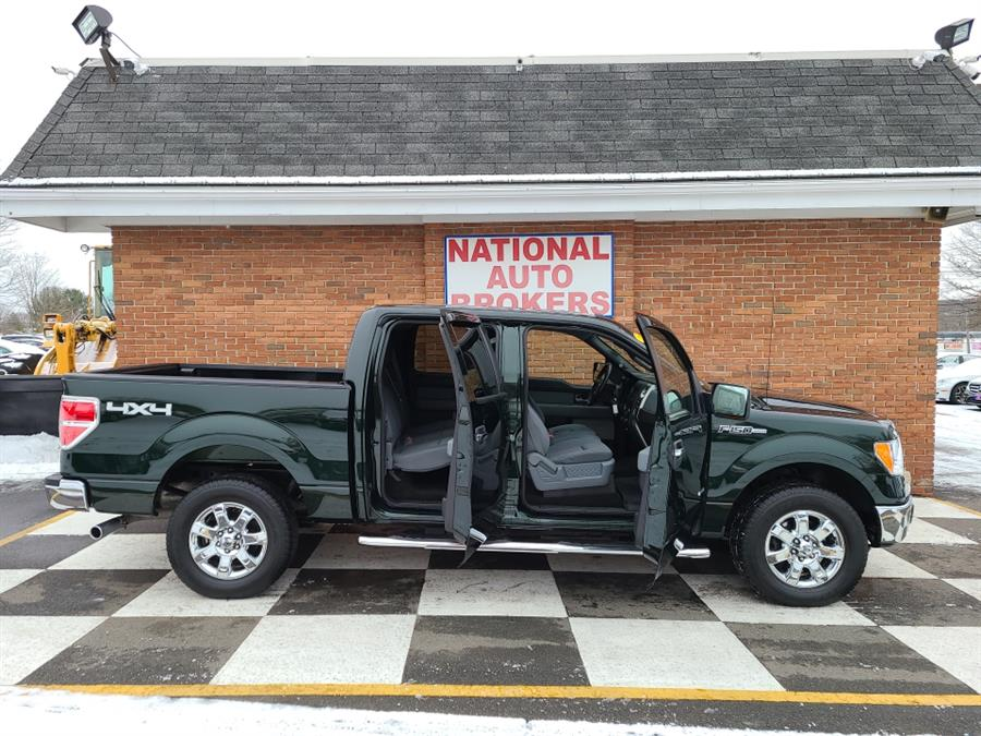 Used Ford F-150 4WD SuperCrew XLT 2013 | National Auto Brokers, Inc.. Waterbury, Connecticut