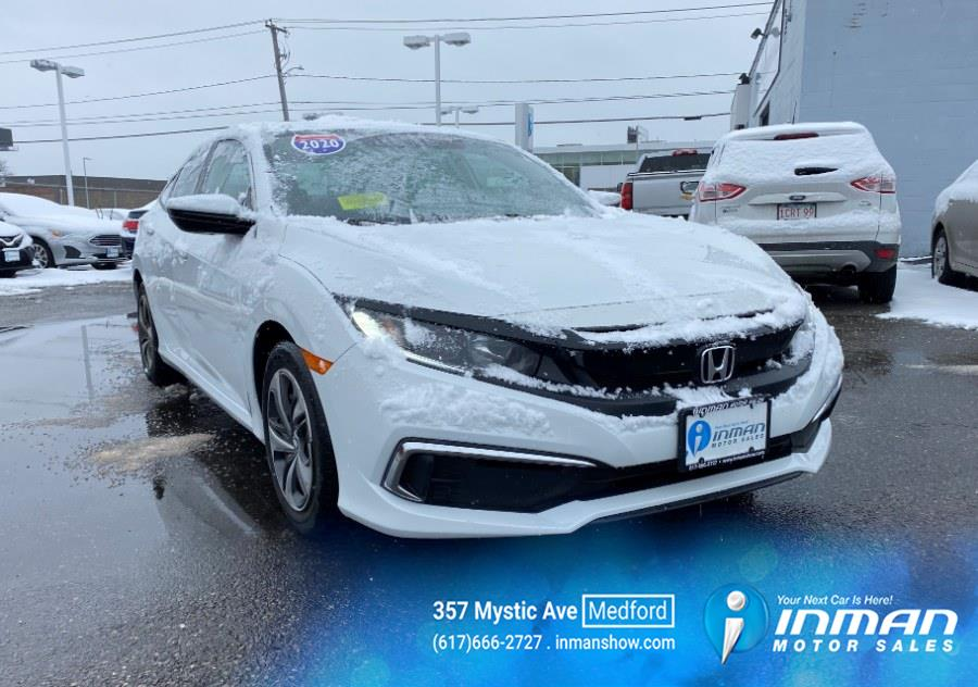 Used 2020 Honda Civic Sedan in Medford, Massachusetts | Inman Motors Sales. Medford, Massachusetts