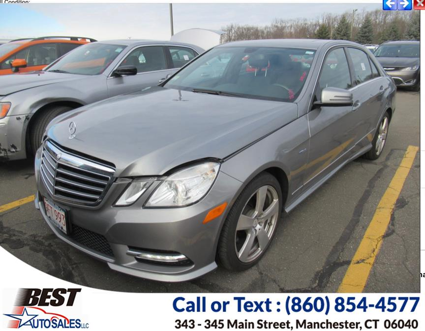 Used Mercedes-Benz E-Class 4dr Sdn E350 Sport 4MATIC 2012 | Best Auto Sales LLC. Manchester, Connecticut