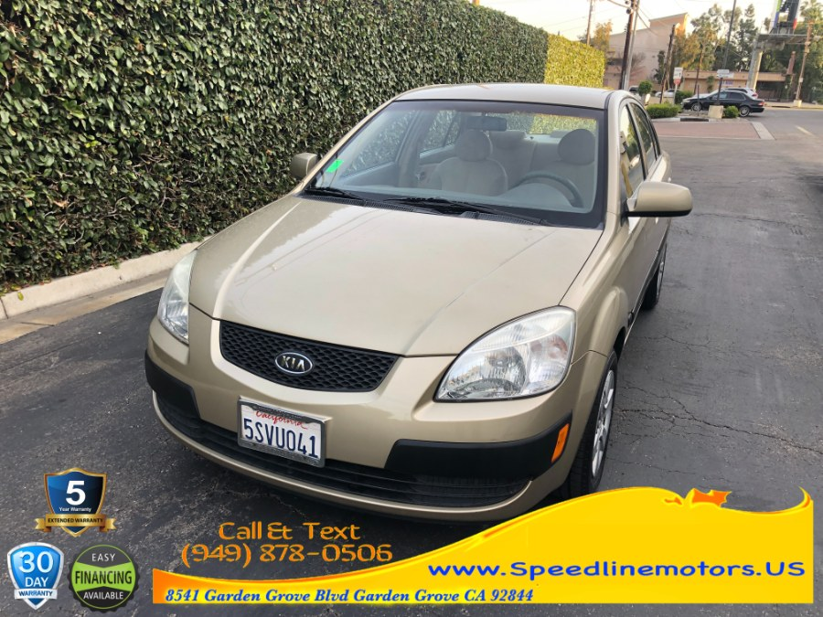 Used Kia Rio 4dr Sdn LX Auto 2006 | Speedline Motors. Garden Grove, California