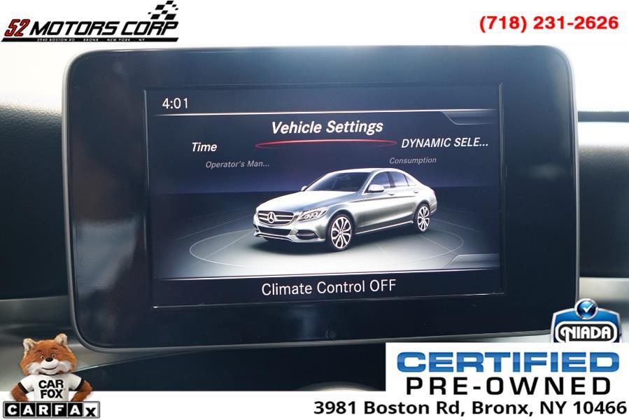 Used Mercedes-Benz C-Class C300 4MATIC Sedan 2017   52Motors Corp. Woodside, New York