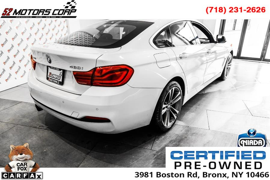 Used BMW 4 Series 430i xDrive Gran Coupe 2018 | 52Motors Corp. Woodside, New York