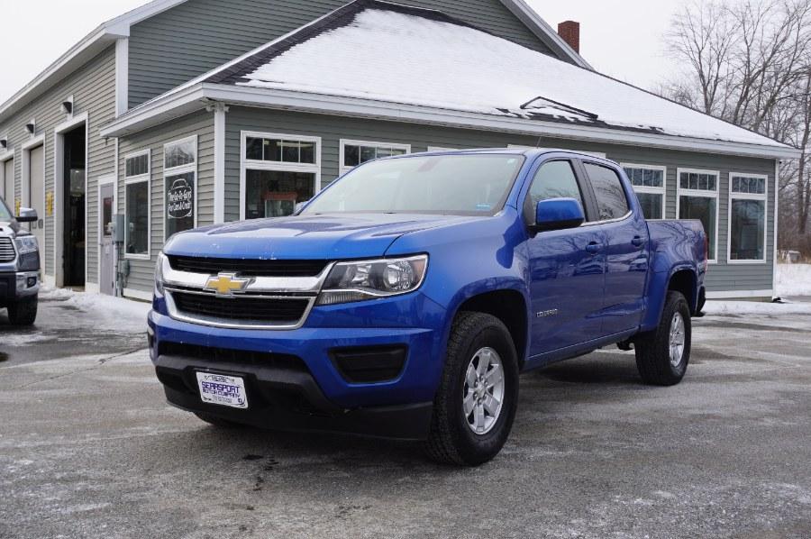 "Used Chevrolet Colorado 4WD Crew Cab 140.5"" Work Truck 2018 | Rockland Motor Company. Rockland, Maine"